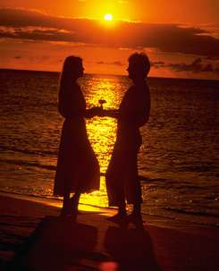 couple sunset beach What You Need To Set Up Your Psychic Business