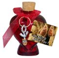 Nuts About You Keychain and Heart Bottle!
