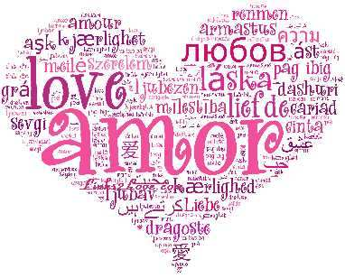 I love you in all language