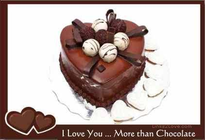 I Love You More than Chocolate - the greatest love of all quote