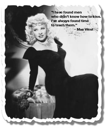 Kissing quote - Mae West