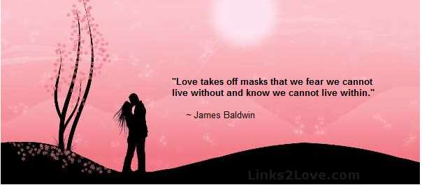 Love Takes Off Our Masks