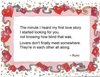 Rumi - The Minute I Hear My First Love Story