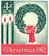First US Christmas Stamp