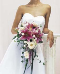 Lily Rose Stephanoitis Delight Bridal Bouquet