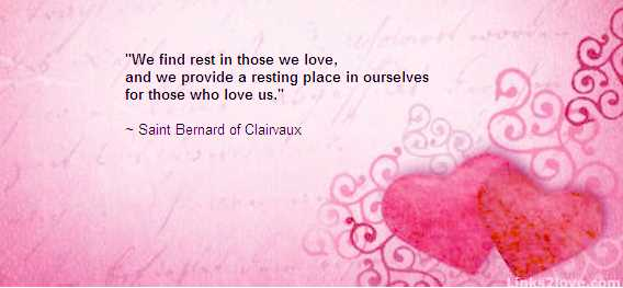 Find rest in love