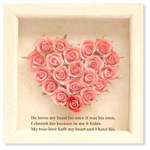 Valentine love poem my true love hath my heart valentines poem