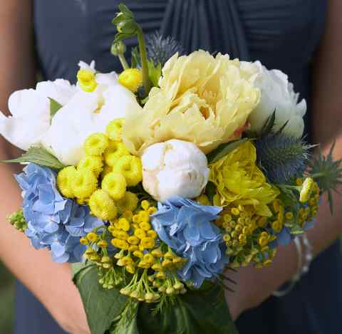 Blue and yellow wedding ideas mightylinksfo