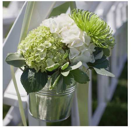 Green and white colors for wedding photos green white wedding flower green and white wedding aisle decorations junglespirit Images