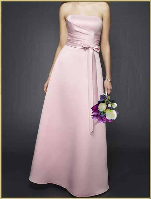 Lavender purple pink wedding bouquets bridesmaid for Soft pink wedding dress